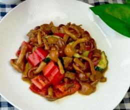 滑子菇炒肉