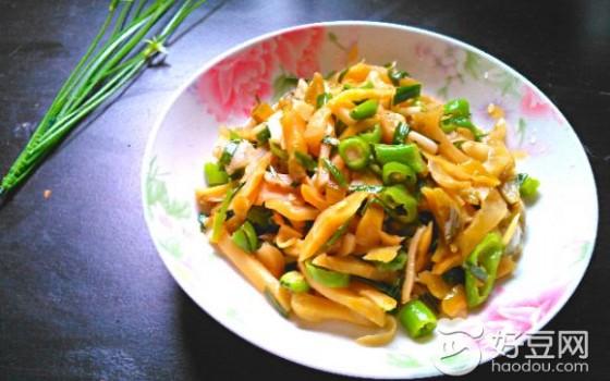 青椒榨菜丝