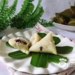 双色葡萄干粽子
