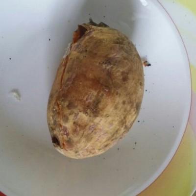 微波炉烤地瓜