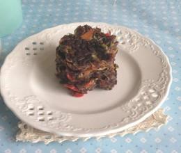 黑米饭煎饼
