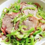 青椒拌猪头肉