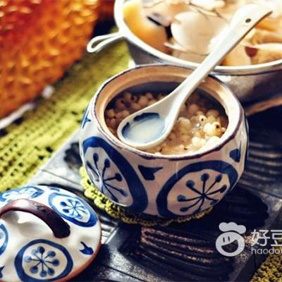 海椰榴莲薏米汤