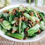 海米炒小白菜