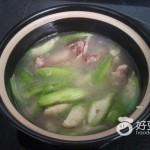 猪筒骨丝瓜汤