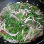 青菜煮面条