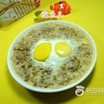 鸡蛋杏鲍菇蒸肉末