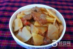 土豆西红柿炒肉