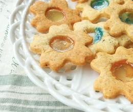 红茶玻璃糖饼干