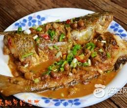豆豉烧鲻鱼