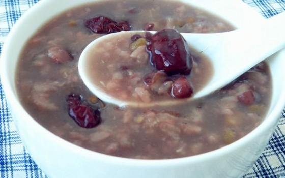 双豆红枣粥