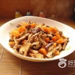 胡萝卜香菇烧肉