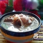 大骨金针菇汤