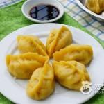 南瓜柳叶蒸饺