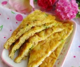 虾酱煎蛋饼