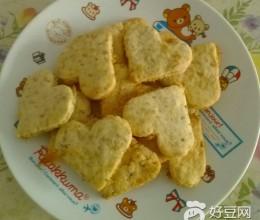芝麻肉松饼干