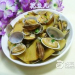 土豆炒花蛤