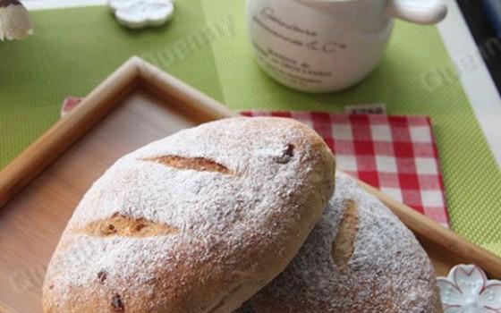 乡村蔓越莓面包