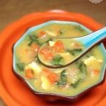蔬菜玉米粥