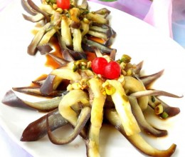 酿肉菊花茄子