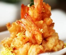 桂花凤尾虾
