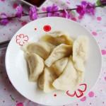 白萝卜虾皮饺子