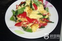 青红椒包蛋