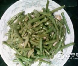 素炒长豇豆