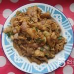 洋葱丁炒肉片