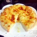 榴蓮芝士披薩