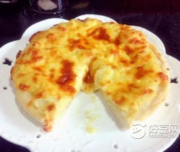 榴莲芝士披萨