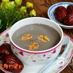 红枣红豆核桃米糊