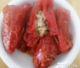 大红辣椒酿肉