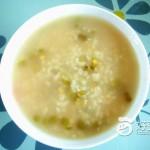 蜂蜜大米绿豆粥