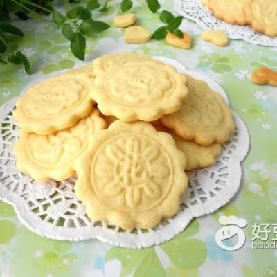 月饼花纹饼干