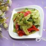 黄瓜拌西红柿