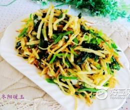菠菜土豆丝