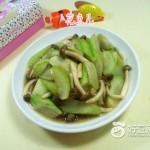 蟹味菇炒夜开花