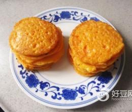 胡萝卜鸡蛋煎饼