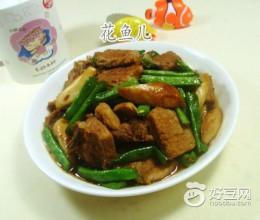 杏鲍菇梅豆烧猪大排