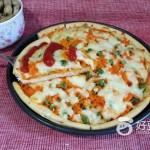 马苏里拉奶酪披萨