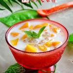 椰汁芒果捞