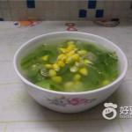 丝瓜玉米汤