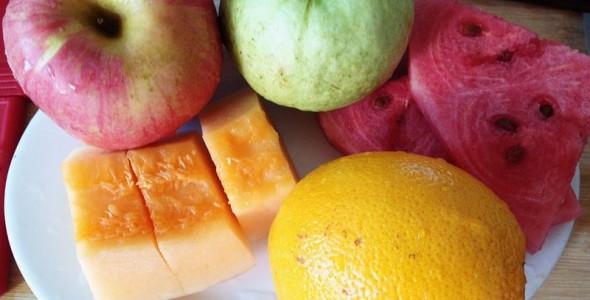 夏日清新水果拼盘的做法 夏日清新水果拼盘的家常做法 夏日清新水果
