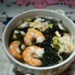 虾仁紫菜蛋汤