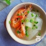 虾干冬瓜汤