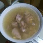 猪腿黄豆汤