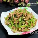 肉丝炒香干青椒