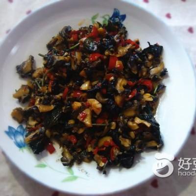 紫苏炒田螺肉