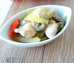潮汕咸菜炒生蚝